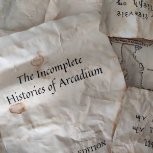 Old Paper that says the Incomplete Histories of Arcadium